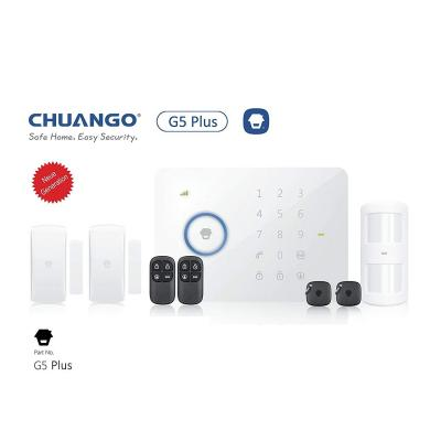CHUANGO 1 gsm SMS RFID Touch Alarm System